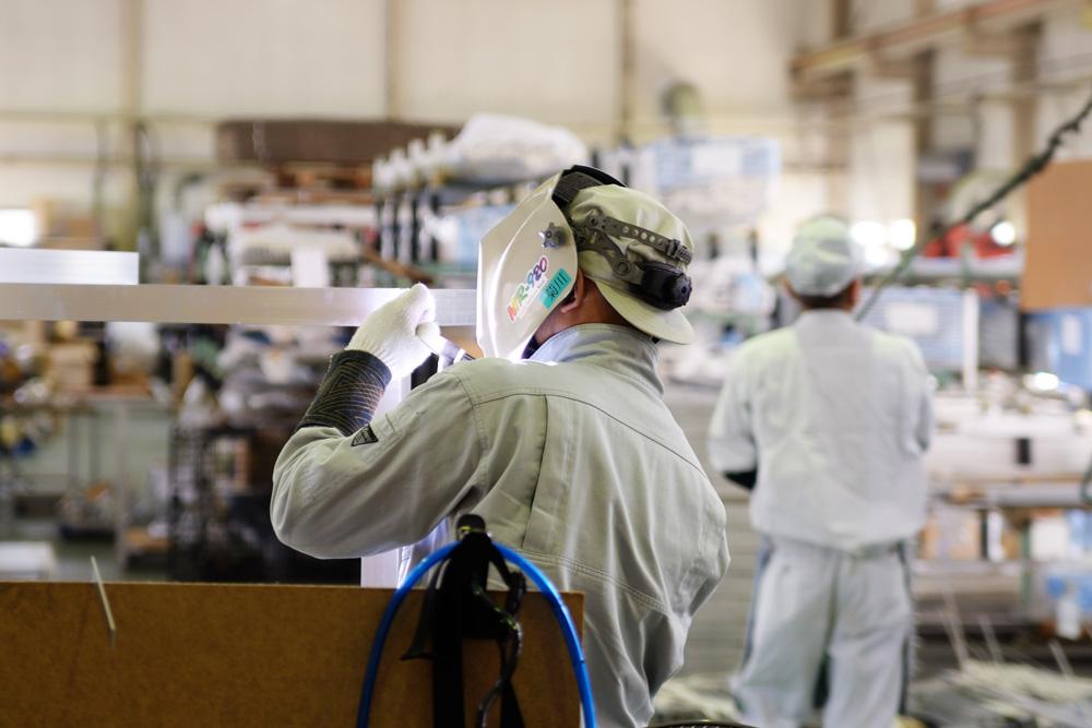 高品質なアルミ製品を安定的に供給します!